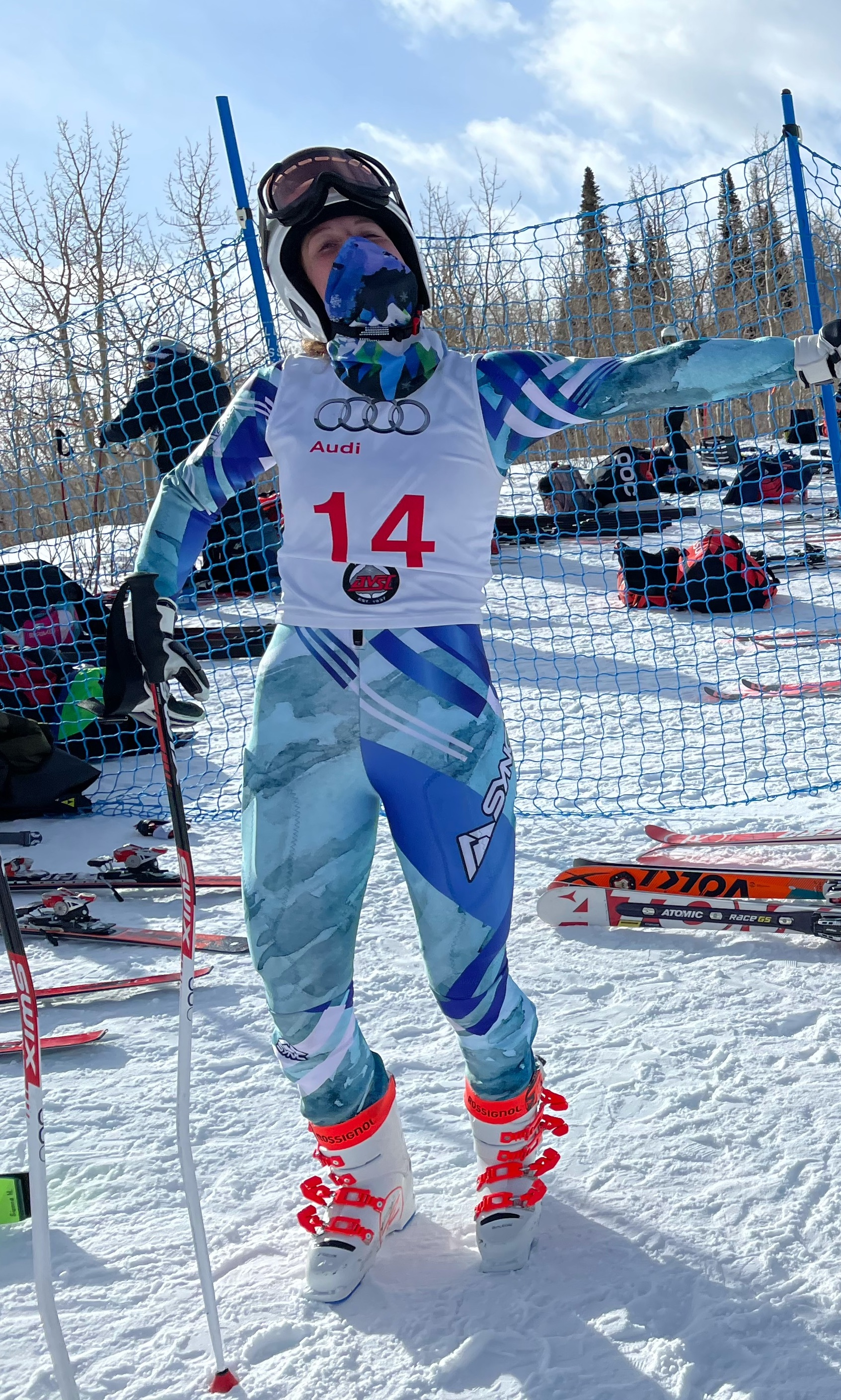 Ella Snyder at the start in Aspen Alpine competition copy.jpg